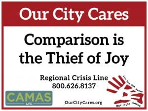 Comparison is the Thief of Joy - Camas Life Magazine