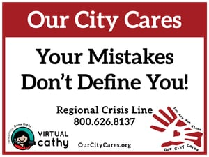 Your Mistakes Don't Define You - Virtual Cathy